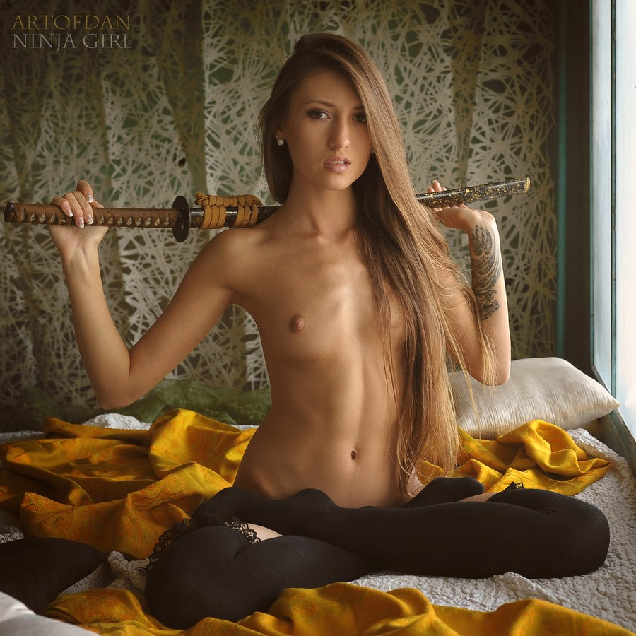 Hot naked ninjas exposed scene