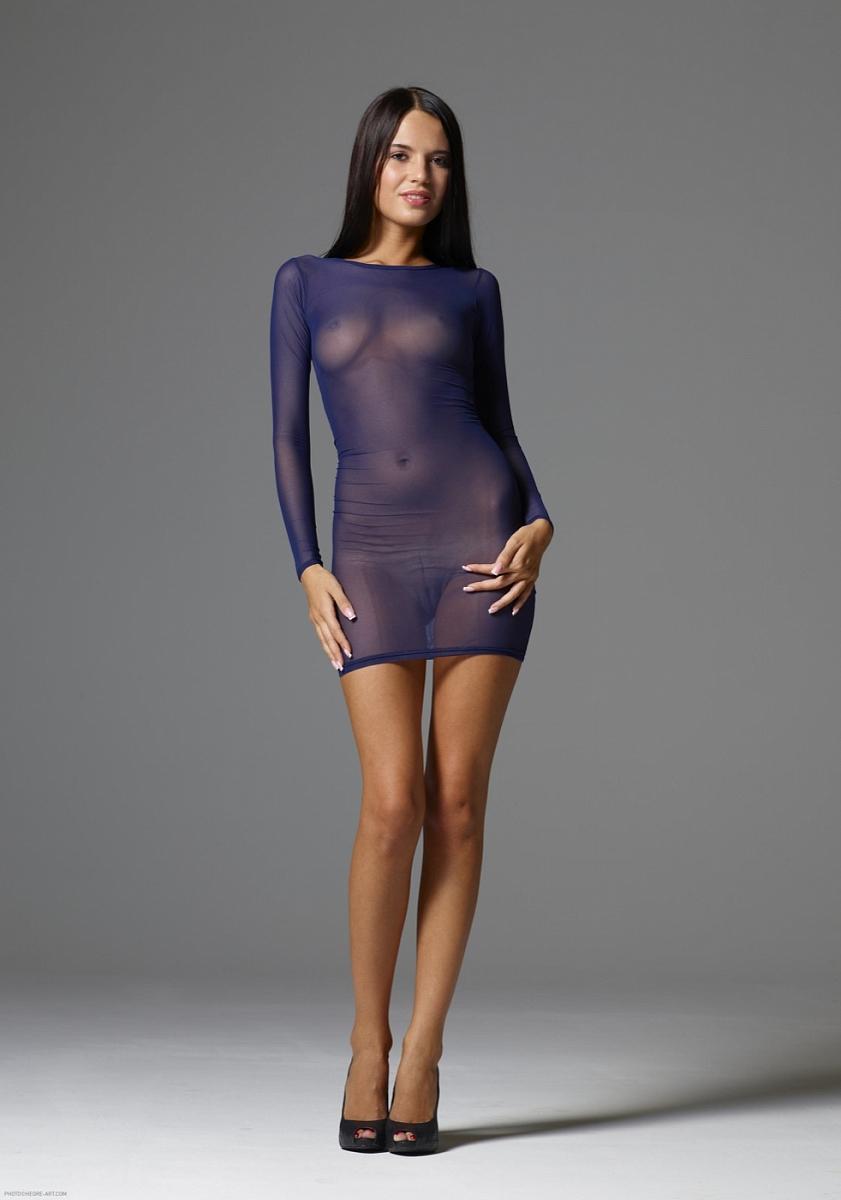 Фото девушек в прозрачной одежде без белья 26 фотография