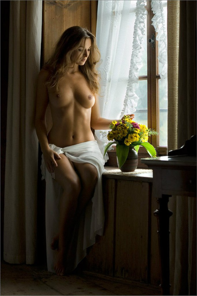 же, ньюхаус фото обнаженной девушки у окна прислушался