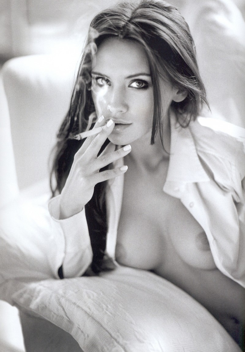 Ever girl naked girls cigarettes nude photo dark