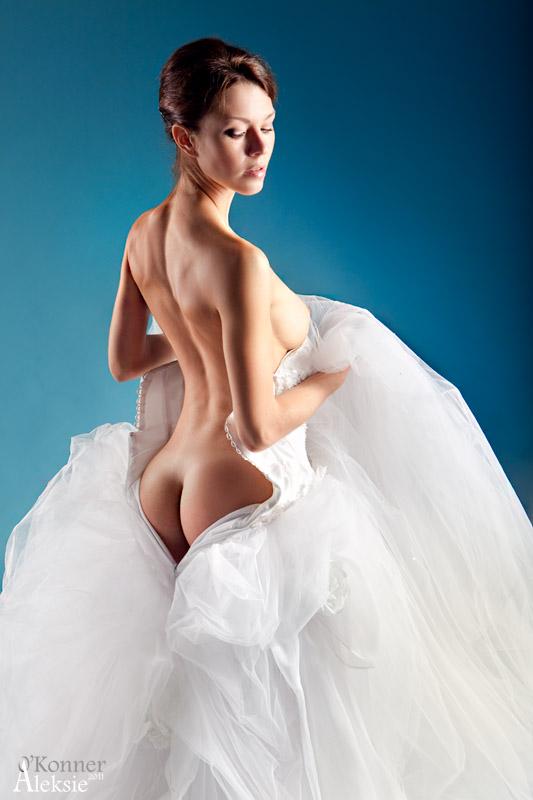 эро фото в свадебном наряде - 10